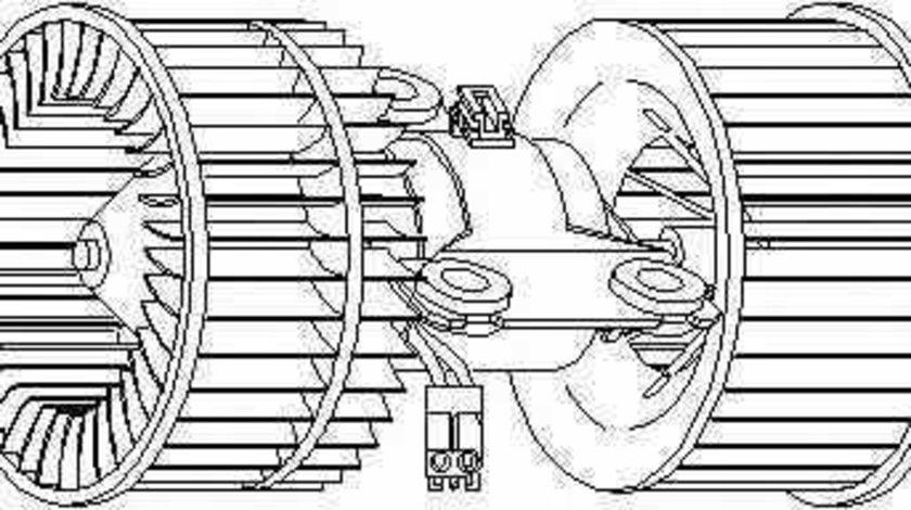 ventilator habitaclu interior BMW 5 E39 TOPRAN 501 517