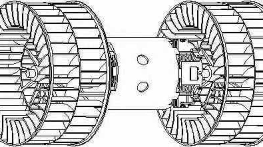 ventilator habitaclu interior BMW 7 E32 TOPRAN 501 334
