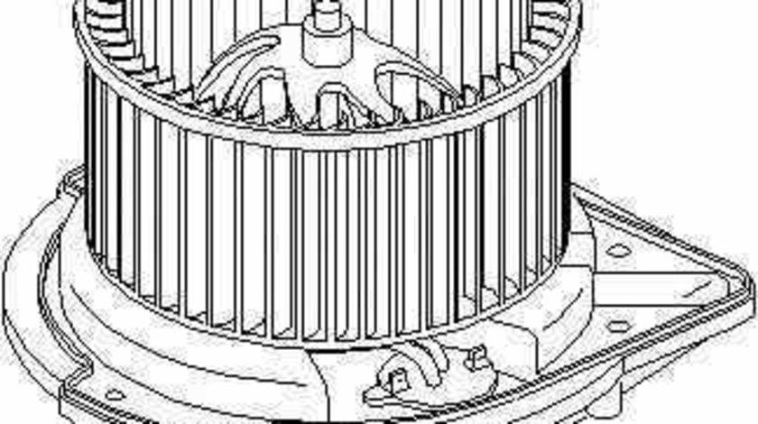 ventilator habitaclu interior SKODA SUPERB 3U4 TOPRAN 112 106