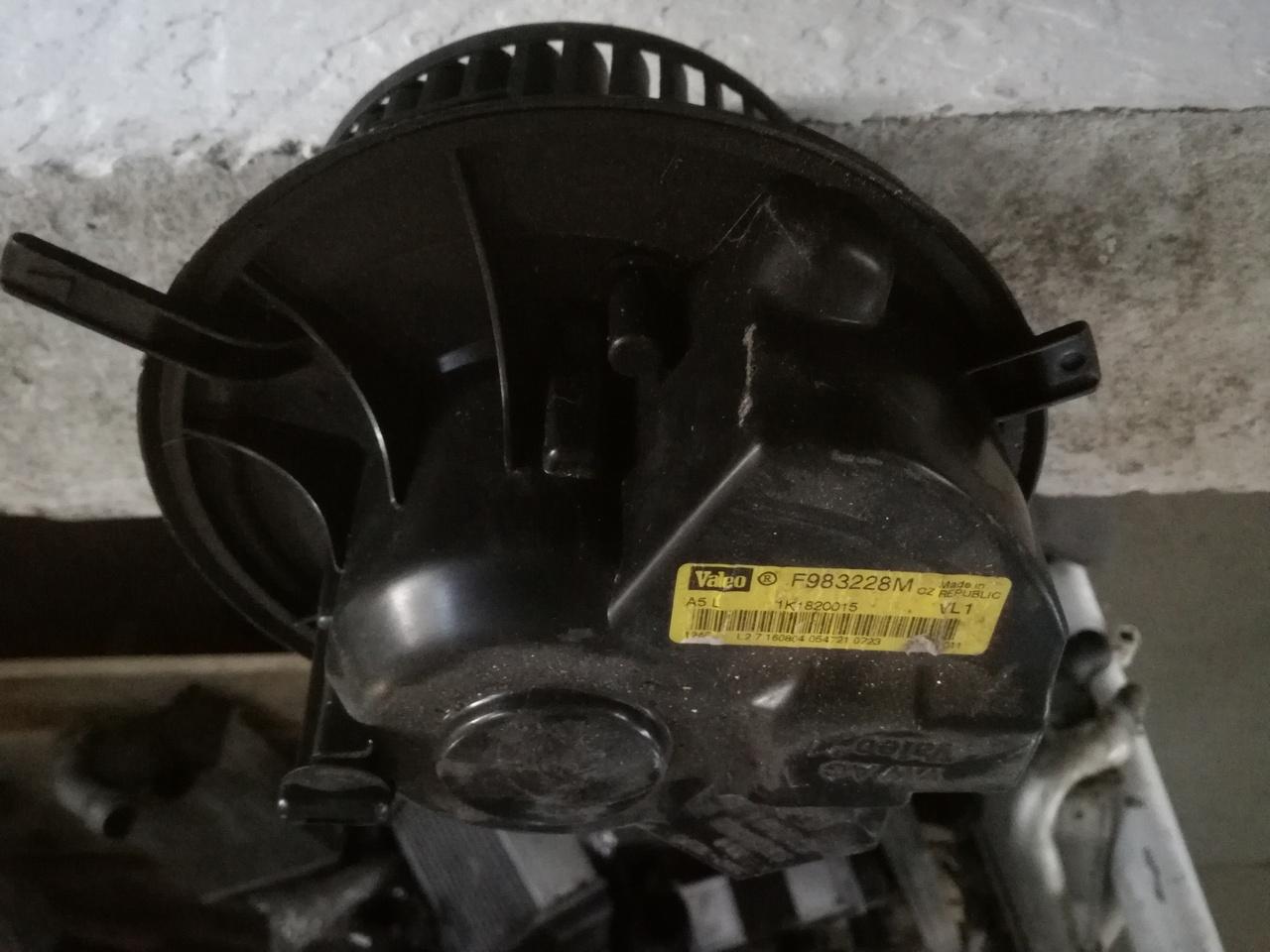 Ventilator habitaclu VW, Skoda, Audi, Seat 1K1820015
