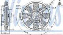 Ventilator, radiator AUDI A8 (4D2, 4D8) (1994 - 20...