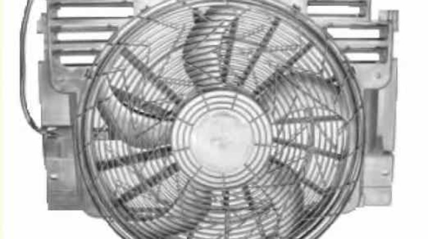 Ventilator radiator BMW X5 E53 NRF 47217