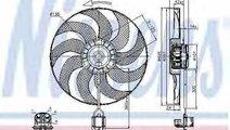 Ventilator radiator CHEVROLET CRUZE J300 NISSENS 8...