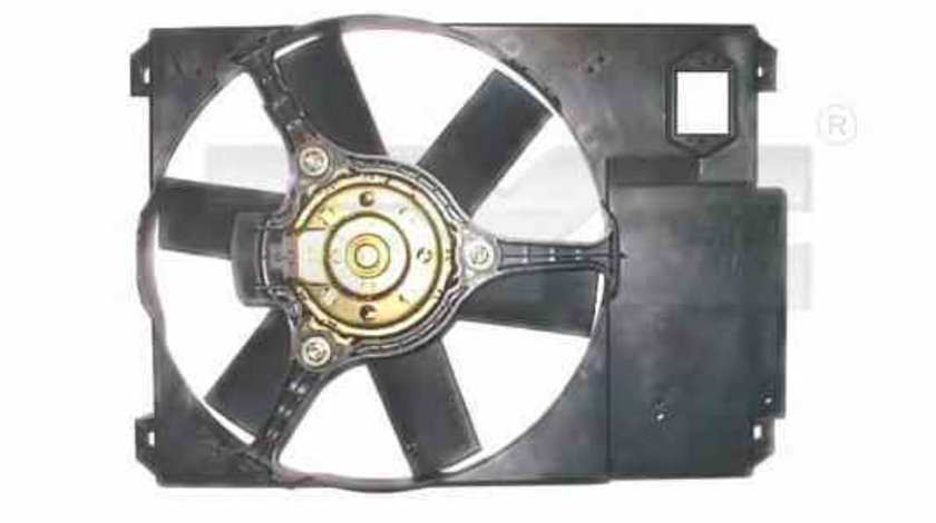 Ventilator radiator CITROËN JUMPER caroserie 230L TYC 809-1018