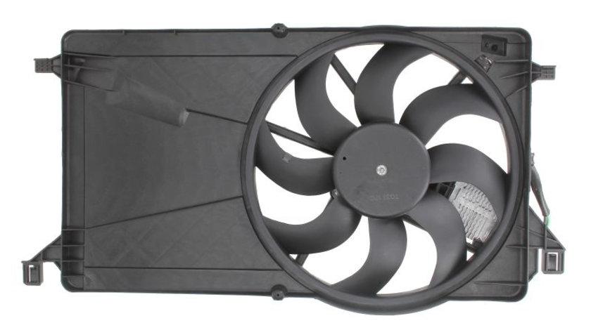 Ventilator radiator (cu carcasa) FORD C-MAX, FOCUS C-MAX, FOCUS II; MAZDA 3 1.4-2.0 d intre 2003-2012