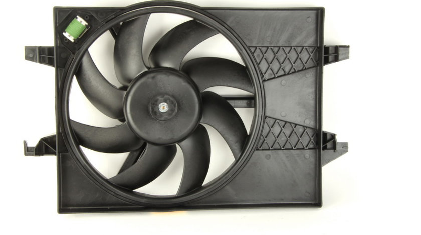 Ventilator radiator (cu carcasa) FORD FIESTA V, FUSION; MAZDA 2 1.25-1.6 d intre 2001-2012