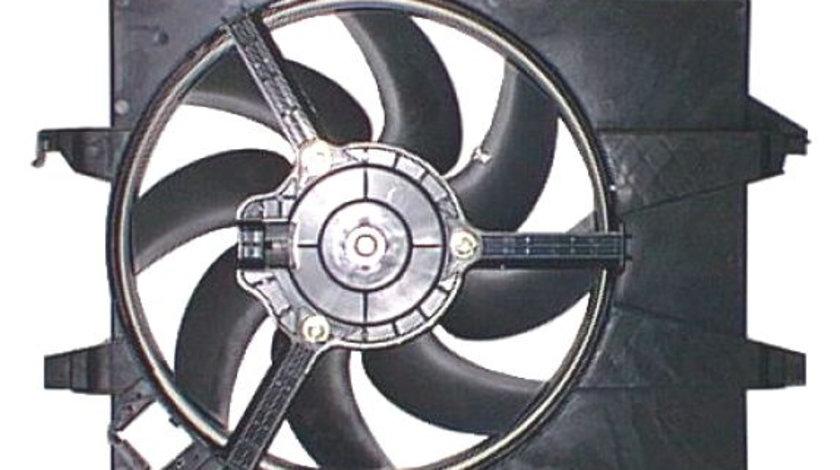 Ventilator radiator (cu carcasa) FORD FIESTA V, FUSION 1.25-2.0 intre 2001-2012