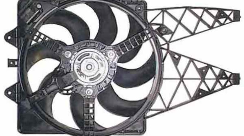 Ventilator radiator FIAT PUNTO EVO 199 NRF 47237