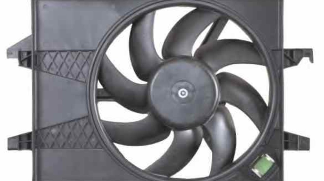 Ventilator radiator FORD FIESTA Van NRF 47006