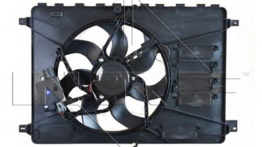 Ventilator, radiator FORD S-MAX (WA6) (2006 - 2016) NRF 47593 - produs NOU