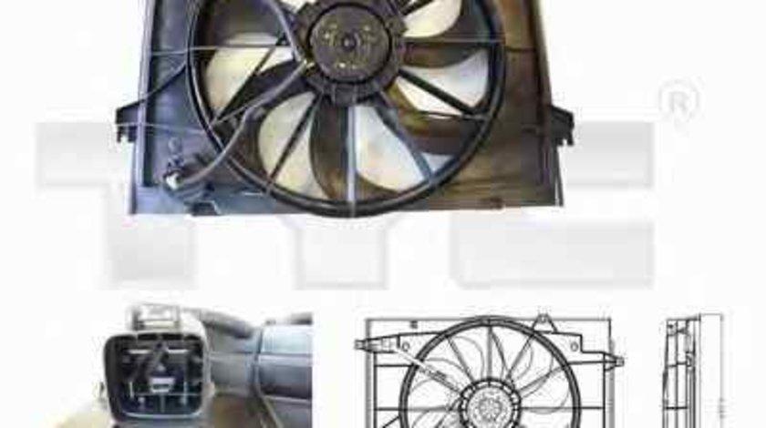 Ventilator radiator HYUNDAI TUCSON JM TYC 817-0001