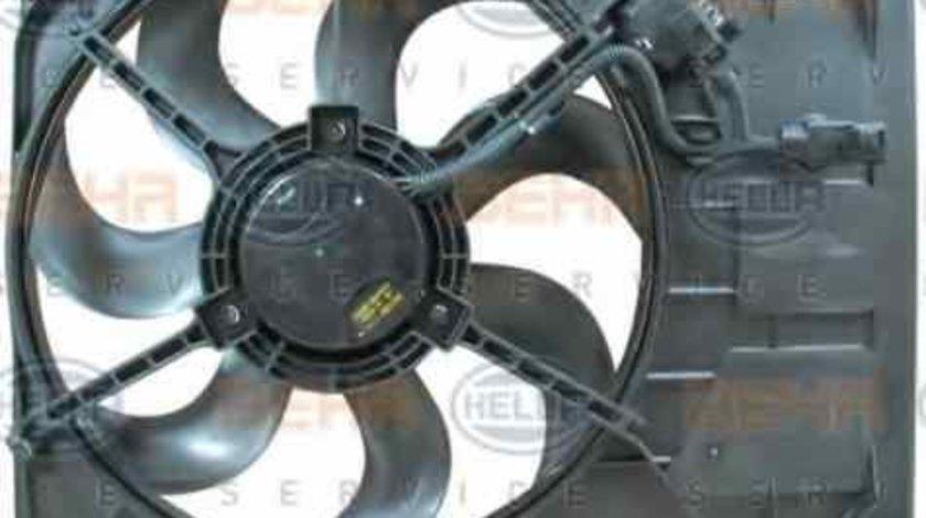 Ventilator, radiator KIA RIO II limuzina (JB) HELLA 8EW 351 041-361