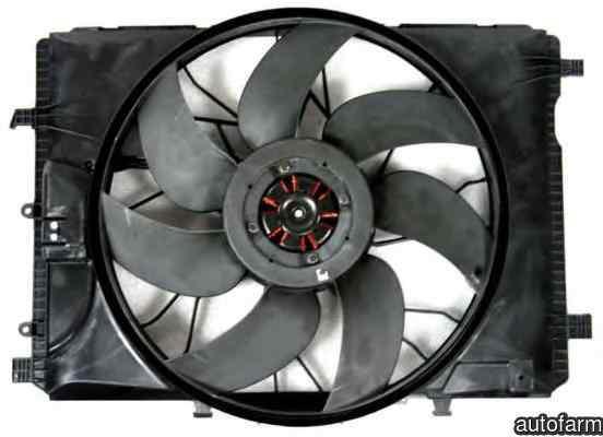 Ventilator radiator MERCEDES-BENZ GLK-CLASS X204 NRF 47443