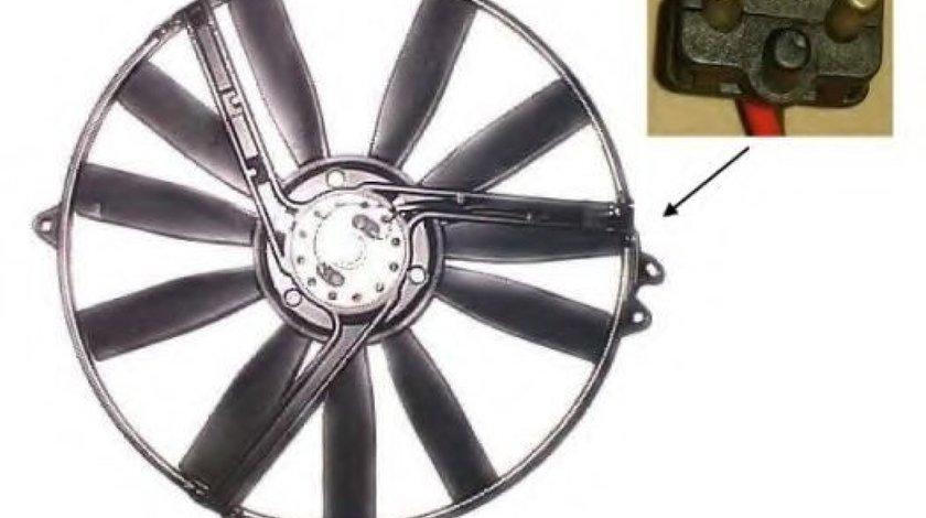 Ventilator, radiator MERCEDES E-CLASS Cabriolet (A124) (1993 - 1998) NRF 47300 produs NOU
