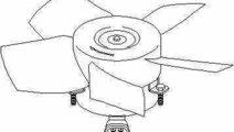 Ventilator radiator OPEL TIGRA 95 TOPRAN 206 947