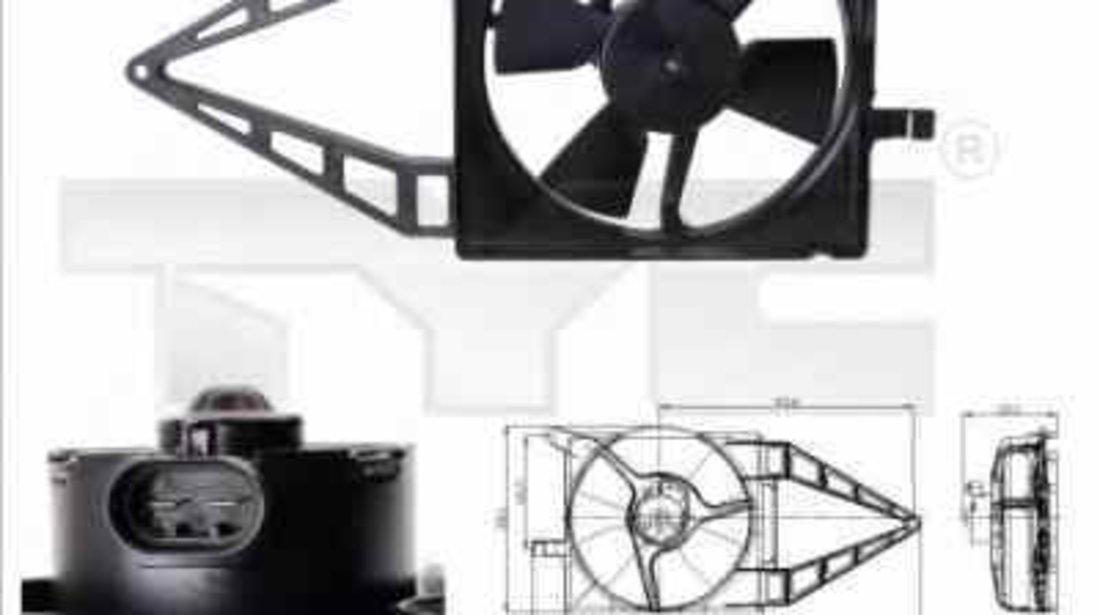 Ventilator radiator OPEL TIGRA 95 TYC 825-0013