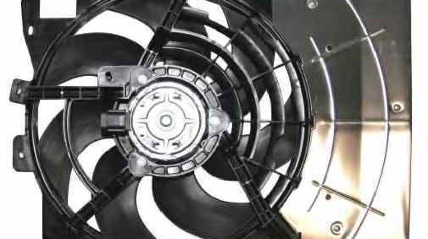 Ventilator radiator PEUGEOT 207 WA WC NRF 47337