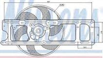 Ventilator, radiator RENAULT CLIO II (BB0/1/2, CB0...