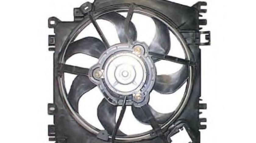 Ventilator, radiator RENAULT CLIO III (BR0/1, CR0/1) (2005 - 2012) NRF 47371 piesa NOUA