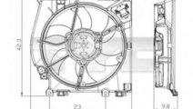 Ventilator, radiator RENAULT CLIO III (BR0/1, CR0/...
