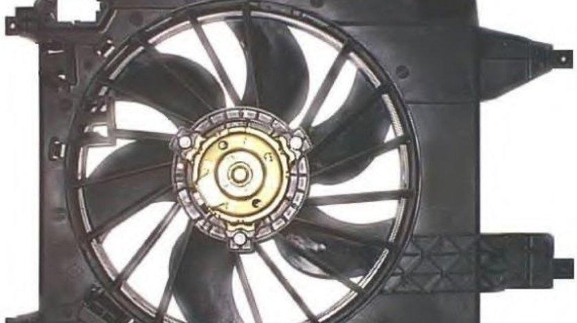 Ventilator, radiator RENAULT KANGOO BE BOP (KW0/1) (2009 - 2016) NRF 47368 piesa NOUA