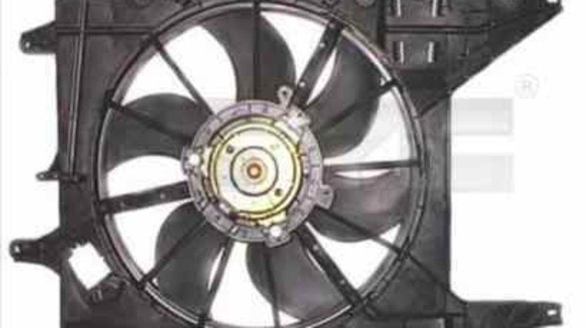 Ventilator, radiator RENAULT LOGAN I combi (KS_) TYC 828-0002
