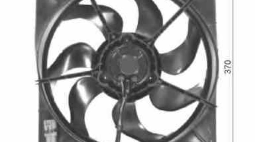 Ventilator radiator TOYOTA AVENSIS Station Wagon T22 NRF 47054