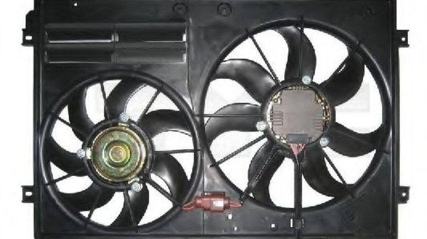 Ventilator, radiator VW GOLF V (1K1) (2003 - 2009) TYC 837-0026 produs NOU