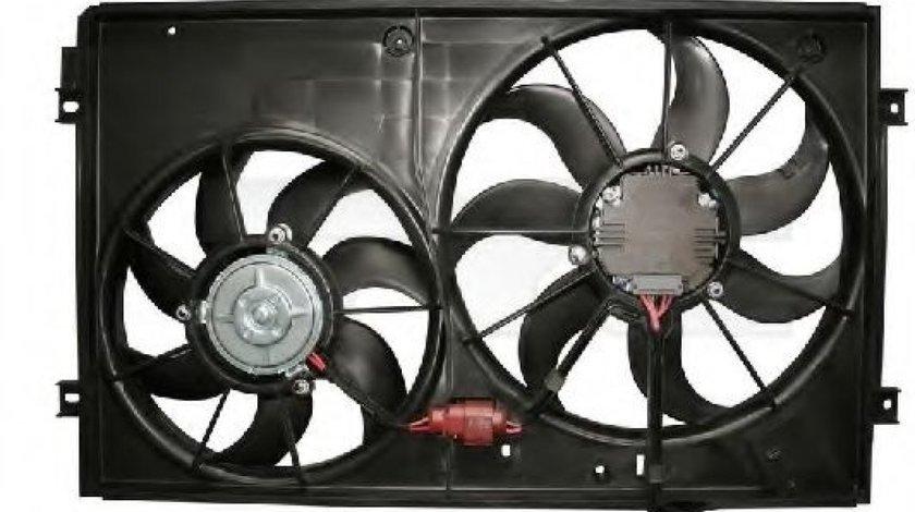 Ventilator, radiator VW GOLF V (1K1) (2003 - 2009) TYC 837-0027 produs NOU