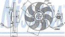 Ventilator radiator VW GOLF V Variant 1K5 NISSENS ...