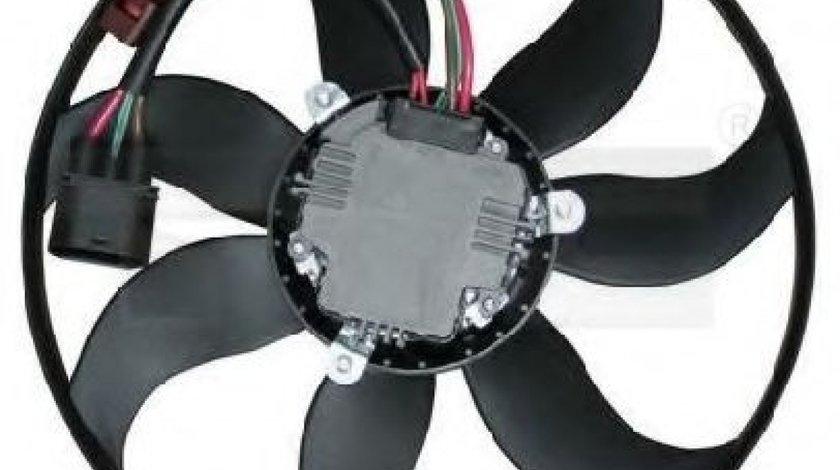 Ventilator, radiator VW PASSAT CC (357) (2008 - 2012) TYC 837-0031 produs NOU