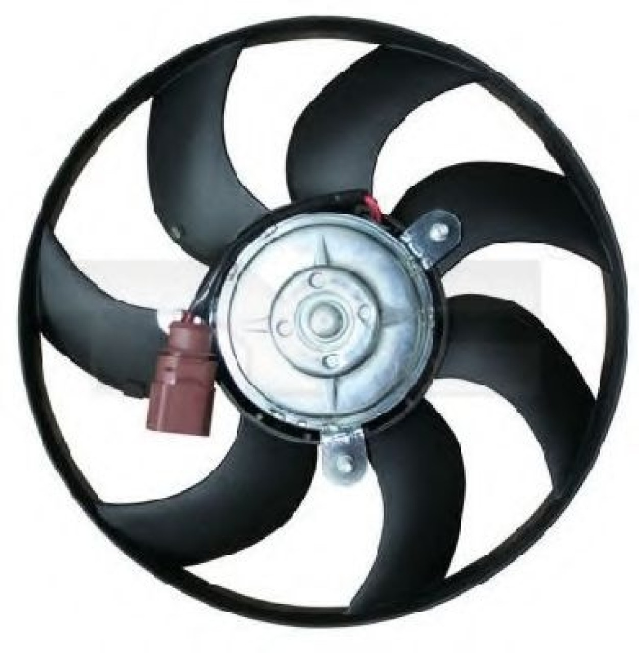 Ventilator, radiator VW POLO (6R, 6C) (2009 - 2016) TYC 837-0030 produs NOU