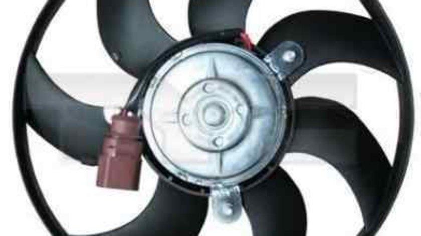 Ventilator, radiator VW TOURAN (1T1, 1T2) TYC 837-0030