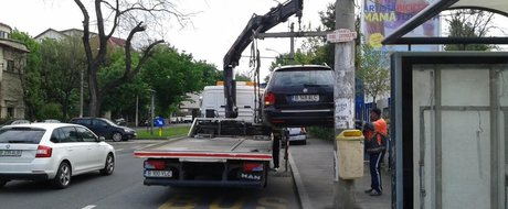 Verde la ridicat masini parcate neregulamentar in Sectorul 3: cat platesti sa iti iei inapoi masina?