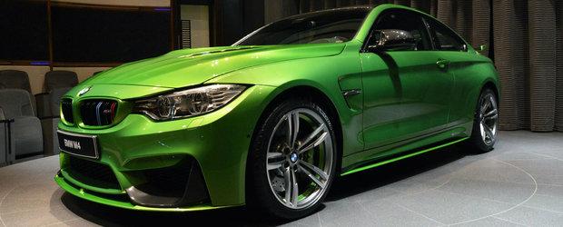 Verdele si carbonul transforma urmatorul BMW in cel mai reusit M4 al planetei