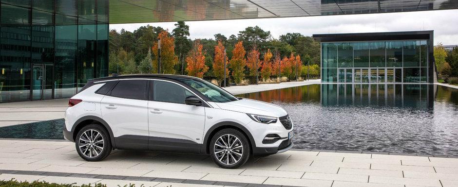 Versiune plug-in hybrid noua pentru Opel Grandland X: un singur motor electric si 224 CP