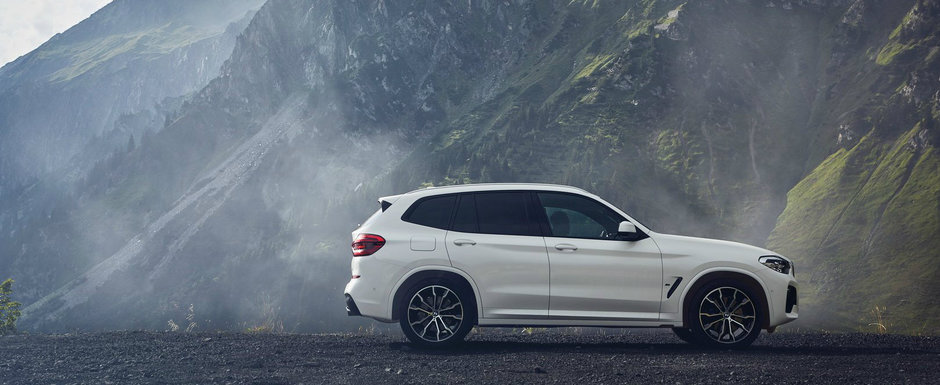 Versiune plug-in hybrid pentru BMW X3: 292 CP si consum mediu de 2.2 litri la 100 de kilometri