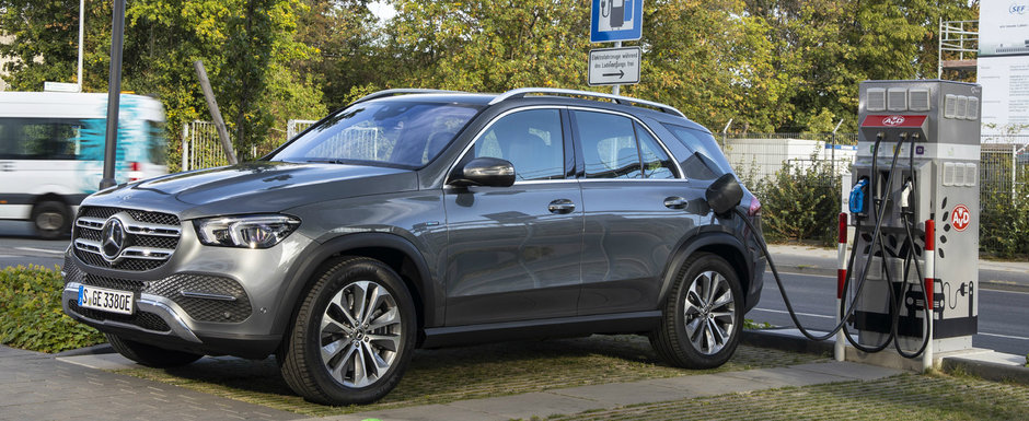 Versiune plug-in hybrid pentru Mercedes GLE: motor DIESEL si electric si autonomie de 99 kilometri