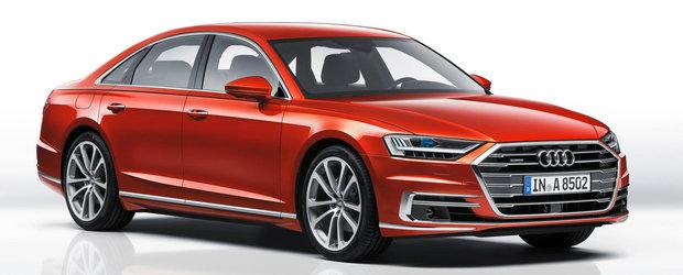 Versiunea de inalta performanta a noului Audi A8 ar putea ascunde sub capota un motor Porsche