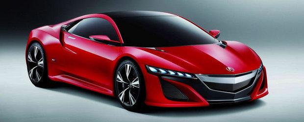 Versiunea de serie a Hondei NSX va fi lansata in ianuarie 2013