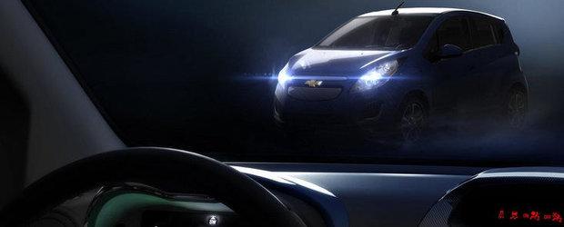 Versiunea de serie a lui Chevrolet Spark electric va debuta la Los Angeles