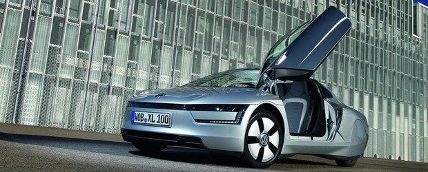Versiunea de serie a lui Volkswagen XL 1 debuteaza la Geneva