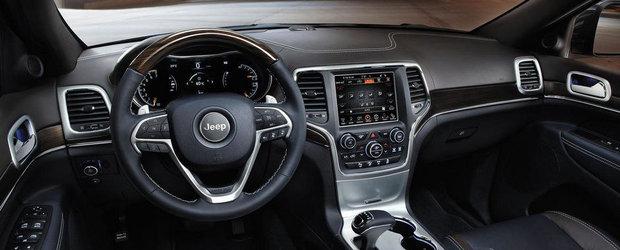 Versiunea europeana a lui Jeep Grand Cherokee va debuta la Geneva