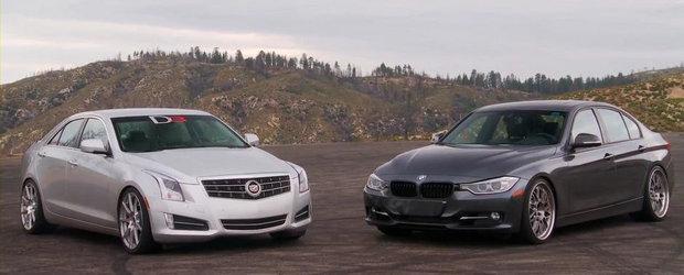 Versus Tuning: BMW 335i cu bunatati M Performance vs Cadillac ATS by D3