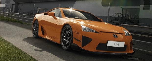 """Vestea asteptata de toti fanii Lexus-ului LFA. Un succesor pentru supercar-ul nipon """"nu este o usa inchisa"""""""