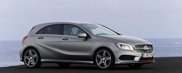 Vesti bune pentru Mercedes: Noul A-Klasse a fost deja comandat de 90.000 de persoane