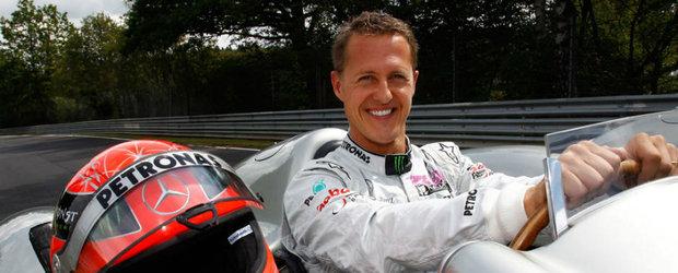 Vesti noi despre starea lui Schumacher. Septuplul campion mondial nu poate sta singur in picioare