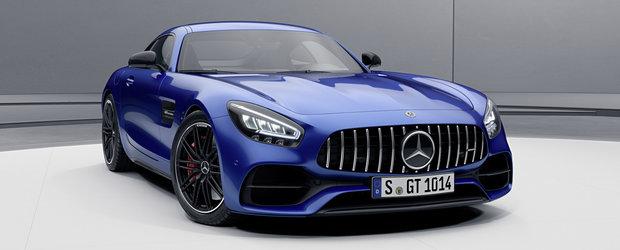 Vesti proaste pentru Porsche 911. Mercedes a ieftinit modelul AMG GT si l-a facut mai puternic