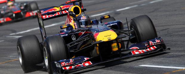 Vettel a castigat duelul de la Barcelona