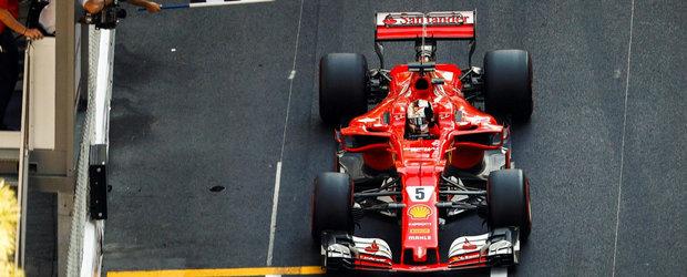Vettel a castigat (pe nedrept) la Monaco. Raikkonen si Ricciardo completeaza podiumul